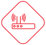 Optimization of internet bandwidth. | Segware - Security Performance