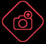 Captura e envio de fotos do local diretamente para a tela de atendimento do operador. | Segware - Security Performance